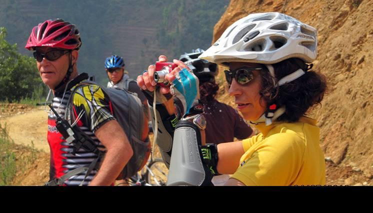 1 day cycling tour at Kathmandu