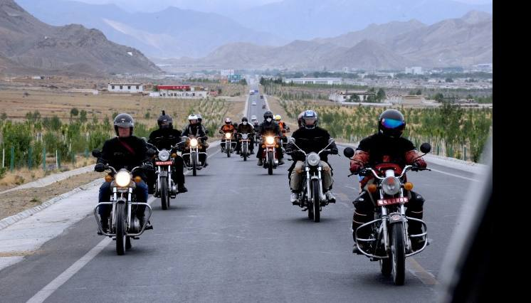 EBC Lhasa Kailash Bike Tour
