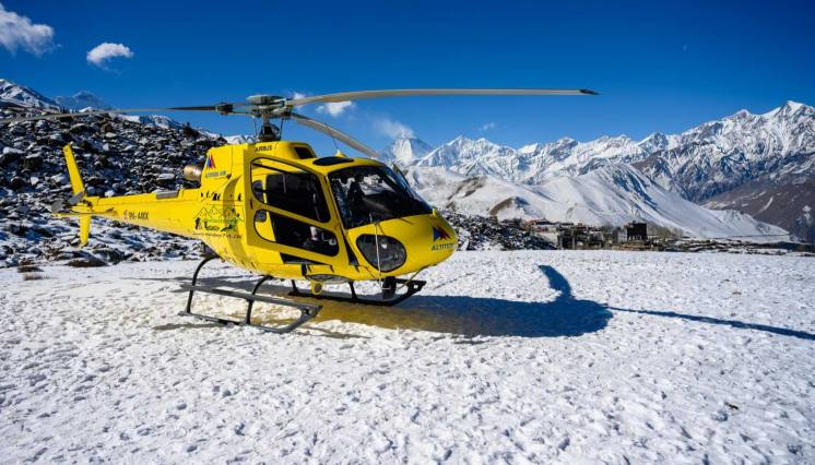 Muktinath day tour by Helicopter