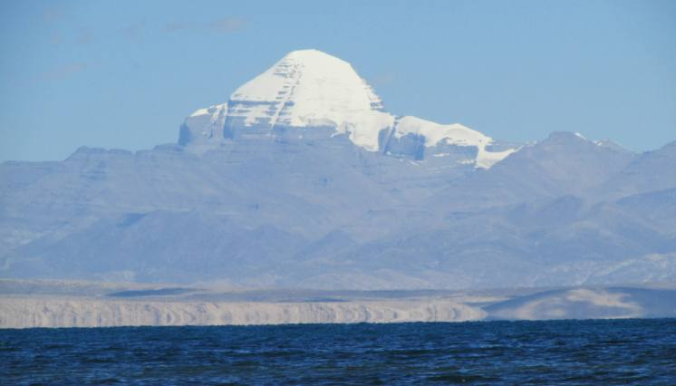 Mount Kailash and Manasarovar in Tibet