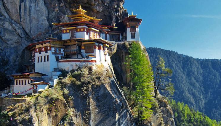 Tiger's Nest, Taktsang Monastery in Paro