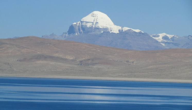Mount Kailash and Manasarovar Lake