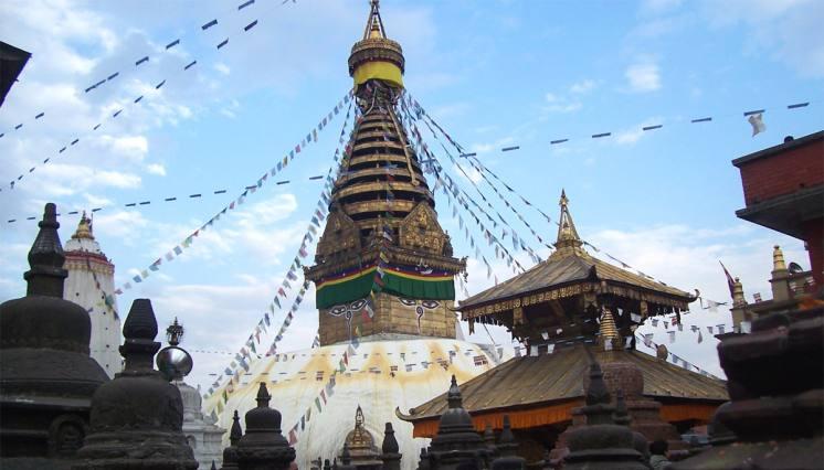 Bauddhanath Stupa in Nepal