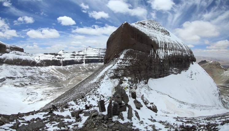 Nandi Hill from Kailash Inner Kora