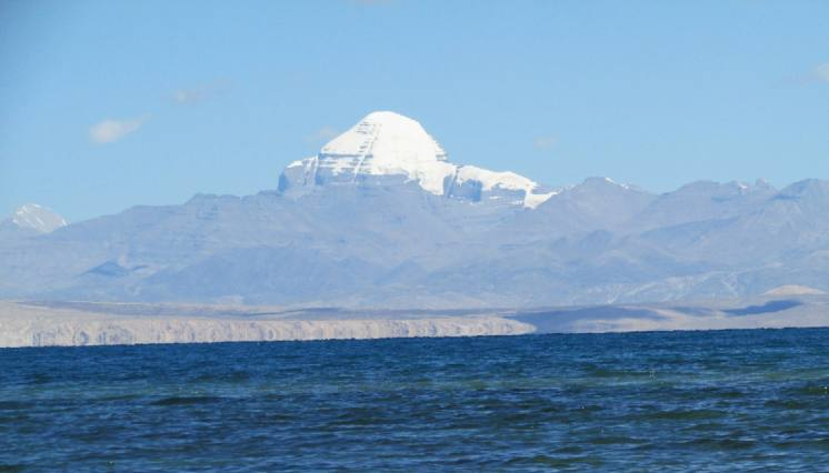 Lake Manasarovar and Mount Kailash