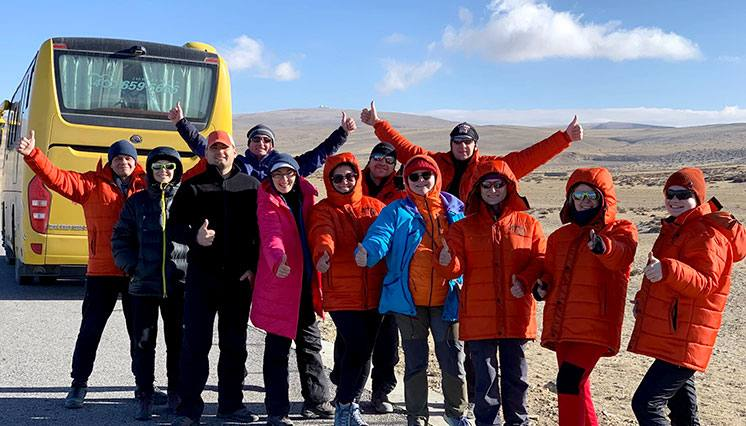 Kailash Mansarovar Tour - Russian Group
