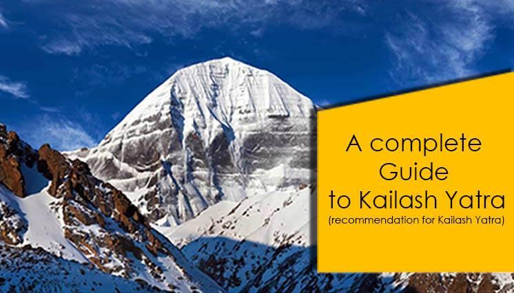 Kailash Yatra Recommendation