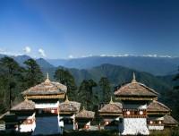 Dochila Pass in Bhutan