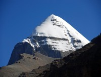 Mount Kailash from Valley of the God