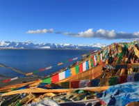 Namtso Lake in Tibet