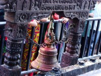 Big Bell in Manakamana Temple