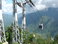 Cable Car rope way to Manakamana