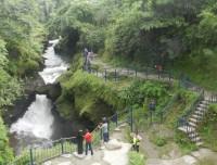 David fall in Pokhara
