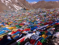 Dolma La pass in Kailash