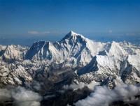 Himalayas view from Kathmandu Lhasa flight