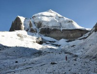 Ice Lingam of Mount Kailash