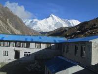 Local tea house on the way Everest Base Camp