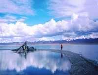 Namtso Lake view
