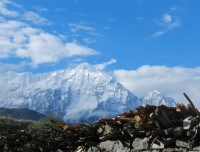 Nilgiri view from Jomsom