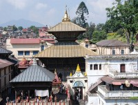 Pahupatinath temple in Kathmandu
