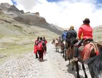 Ponny Riding in Kailash Parikrama