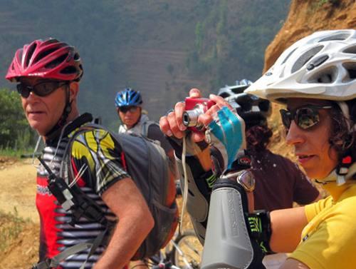Day Cycling at Kathmandu