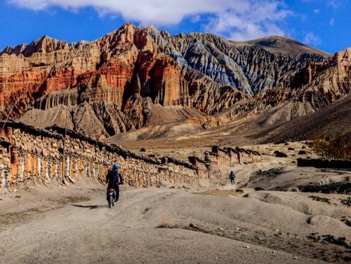 Motorbike tour to Upper Mustang